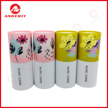 100% Original for Tea Packaging White Cardboard Tube For Gift Tea Coffee Packaging supply to Japan Supplier