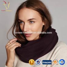 Femmes laine hiver écharpe épaisse cachemire tricot écharpe
