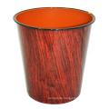 Plastik Brown Holz Design Offene Abfalleimer (B06-2015-2)