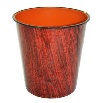 Boîte à ordures en acier inoxydable en bois (B06-2015-2)