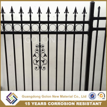 Aluminum and Galvanized Steel Picket Fence