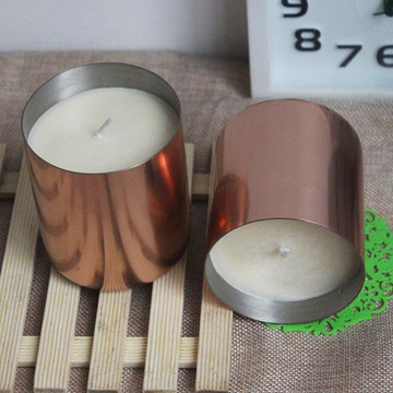 Soy Wax Luxury Copper Cup Beraroma Lilin