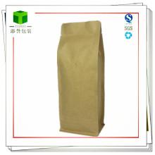 Kraftpapier Kaffeebeutel / Folie gefüttert Kraft Kaffeebeutel