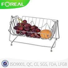 Cesta de frutas de fio de metal de alta qualidade