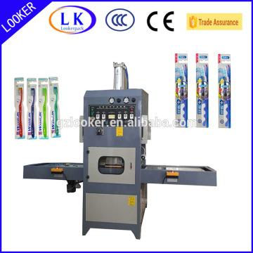 CE высокочастотная машина упаковки Волдыря зубной щетки