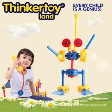 Brinquedo pré-escolar educacional do robô do interior do plástico