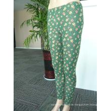Langhosen-Leggings aus Polyester bedruckte Damenhosen
