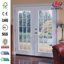 15 Lite Primed Steel Patio Door with Brickmold