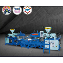 Three Color PVC/TPR Upper Molding Machine