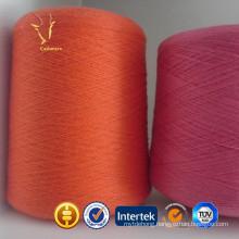 Orange Sock Worsted Yak Silk Yarn