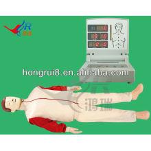 Advanced Electric Basic CPR Manikins Suppliers, hospital aid training manikins