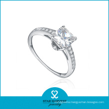 2016 New Designed Fashion Silver Wedding Rings (R-0349)