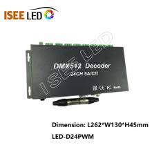 Decodificador de interfaz DMX de 24 canales de alta potencia