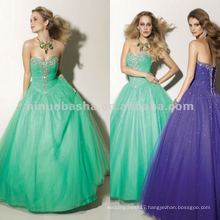 NY-2345 Beaded neckline quinceanera dress
