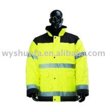Sicherheit hi Sichtbarkeit Warnung Reflektierende Jacke