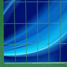Panel recubierto de PVC de malla de alambre soldado