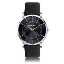 fashion black movt tester quartz watch