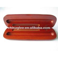 Caso de caneta de madeira de alta qualidade