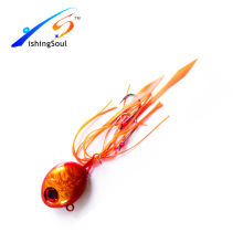 RJL016 señuelo de cebo de pesca barato plomo jig plantilla de goma de metal jigging señuelos