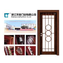 Porta de madeira de vidro da sala do MDF (LTS-201)
