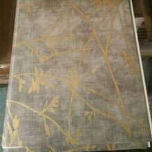 Деревянная цветная ламинированная ПВХ стеновая панель, пластиковая потолочная панель, Cielo Raso De PVC