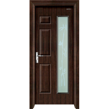 Steel Wood Door with Glass