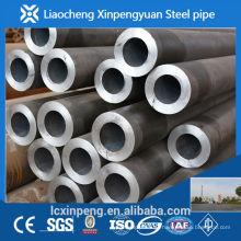 Fabricação e exportador de alta precisão sch40 tubo de aço carbono sem costura e tubulação laminados a quente