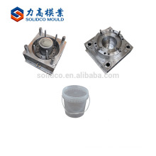 Customized Design Changeable Paint Bucket Plastic Mould Plastic Paint Container Mould