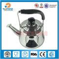 Bouilloire de thé arabe d'acier inoxydable de 1L-4L, théière en gros, bouilloire de cuisson industrielle