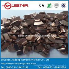 W55cu45 de contato ponta tungstênio com ISO 9001 de Zhuzhou Jiabang