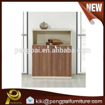 Modern simple MDF melamine two doors cabinet