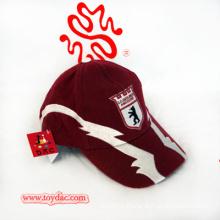 Полиэфирная персиковая кожа Спортивная эмблема Модная кепка
