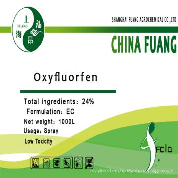 Agrochemical Herbicide (CAS No: 42874-03-3) Oxyfluorfen 24%Ec