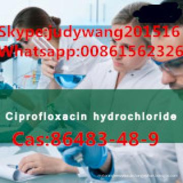 99,6% hochreines Ciprofloxacin-Hydrochlorid (CAS: 86483-48-9)
