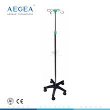 АГ-IVP003 Регулировка высоты с пятью колесами подвижный медицинский полюс IV