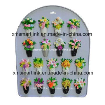 Souvenir Flower Resin Magnet Decoration
