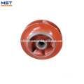 Precise casting centrifugal pump impeller