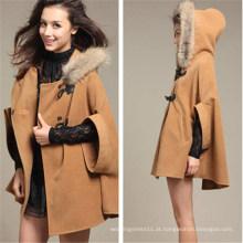 Coreano Moda Inverno Quente Manto Outwear (50031-2)
