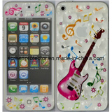 3D Guitar and Water Cube Design for iPhone 5 Front and Back