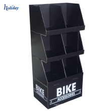 Paper Clothes Rack Promotional Exhibition Cardboard Stand For Clothing Store