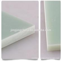 FR4 water green high quality 4x8 epoxy fiberglass sheet/unclad laminated sheet/insulation shee