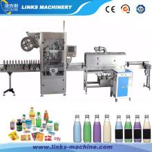 Machines de rétrécissement d'étiquette ronde de douille de bouteille à vendre