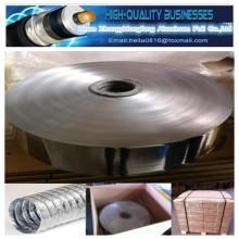 Хорошая цена Al 10, Pet 12, Al 6.5mic Двусторонняя алюминиевая фольга для пленочного покрытия из майлара / лист