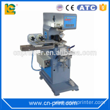 Pneumatic 2 color pad printer with cleaning equipment