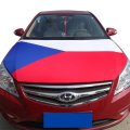 Чехия Spandex Трикотажный полиэстер Ткань Автомобильный двигатель Крышка капота флаг