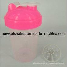 Agitador de garrafa de pó proteico de 500 ml