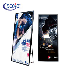 Mirror Super Thin P3 Video Advertising Led Machine