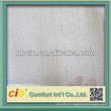 Tissu de rideau de voile de haute qualité