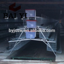 Poultry Farm Equipment Automatic Battery Design Layer / Broiler Chicken Cage