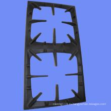 2 конфорки чугунная эмалированная газовая плита